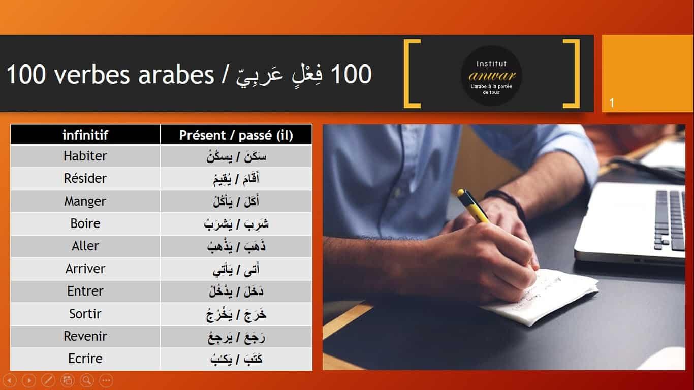 verbes arabes pdf 1
