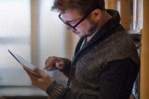 e-learning langue arabe sur tablette