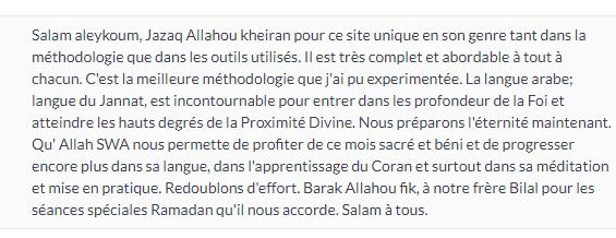 Méthodologie excellente pour apprendre à lire et écrire l'arabe